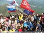 2    мая  2013 года  состоялось   традиционное  массовое  восхождение, посвящённое 68-годовщине  Победы  в Великой Отечественной войне   на самую высшую  точку   Ставропольского края,  высотой  1401  метр  над уровнем моря –  гору  Бештау.