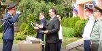 Знаменосцы получили награды от  депутата Думы Ставропольского края Игоря Николаева