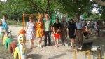 Игорь Николаев помог построить детскую площадку