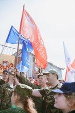 Знамя Победы – снова на вершине Бештау