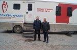 Игорь Николаев принял участие в Дне донора крови
