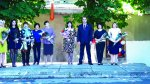 Игорь Николаев напутствовал выпускников своей родной школы