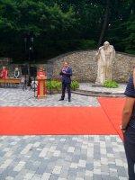 Игорь Олегович присутствовал на вручении золотых и серебряных медалей выпускникам    2019 года города-курорта  Железноводска.