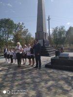 Открытие мемориальной зоны в селе Янкуль