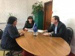Встреча  в  поселке  Каскадном  Андроповского  района