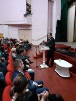 Глава  Андроповского района  Ставропольского  края отчиталась  перед жителями  села Курсавка
