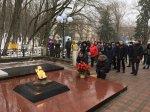 Игорь Николаев возложил цветы к Вечному огню в Железноводске