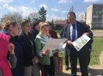 Игорь Николаев провел встречу в Курсавке по благоустройству села