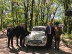Игорь Николаев приветствовал участников акции «Эх, путь-дорожка фронтовая»