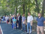 В Железноводске построили спортивную площадку